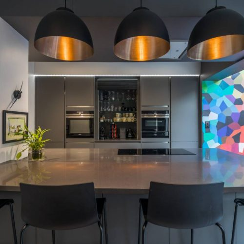 LWK Kitchens London - Silestone Marengo - cocina moderna 6