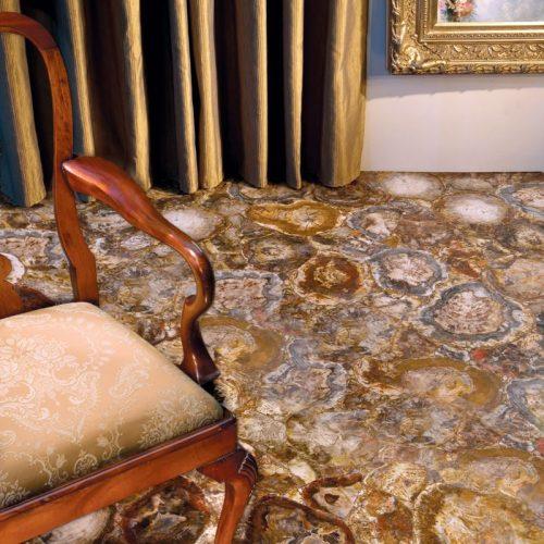 Petrified Wood Floor